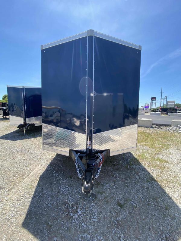 2021 Sport Trailers VECS716TA35-S Enclosed Cargo Trailer - 7x16 TA - Ramp Door - 6 Inch Additional Height - Alum. Roof (GVW:  7700)