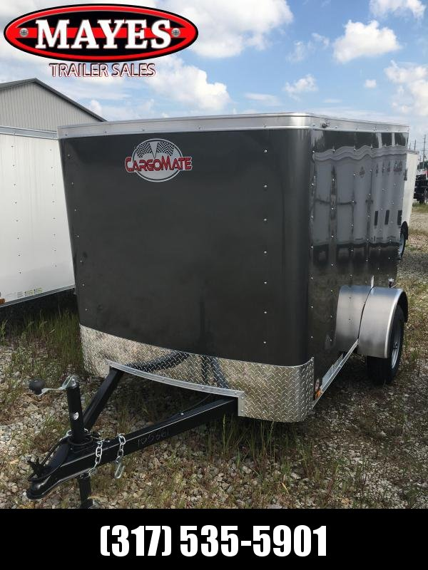 2021 Cargo Mate SS58SA Enclosed Cargo Trailer - 5x8 SA - Single Rear Door - .030 Metal Upgrade (GVW:  2000)