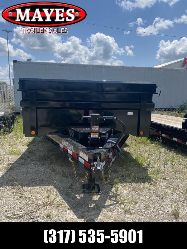 2021 Load Trail DT8314072 Dump Trailer - 83x14 TA - Scissor Hoist - Max Step - Rear Slide In Ramps - 2-Way Gate - Spare Tire MOUNT ONLY (GVW:  14000)