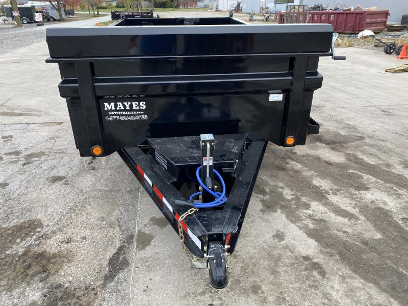 2021 Load Trail DT7212052 Dump Trailer - 72x12 TA - Tarp Kit - Scissor Hoist - 24 Inch Dump Sides - 2 Way Gate - Rear Slide In Ramps - Spare Tire MOUNT ONLY (GVW:  9990)