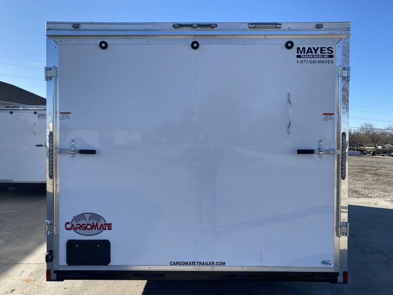 2021 Cargo Mate EHW8.520TA2 Enclosed Cargo Trailer - 8.5x20 TA - Ramp Door - D-Rings - 16 Inch O/C Floor Crossmembers (GVW:  7000)