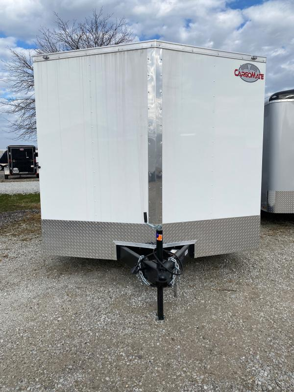 2021 Cargo Mate EHW8.520TA2 Enclosed Cargo Trailer - 8.5x20 TA - Ramp Door - D-Rings - 16 Inch O/C Floor Crossmembers (GVW:  7000)
