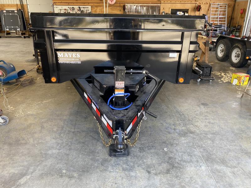 2022 Load Trail DT8314072 Dump Trailer - 83X14 TA - Scissor Hoist - Tarp Kit - 2 Way Gate - Spare Tire MOUNT ONLY (GVW:  14000)