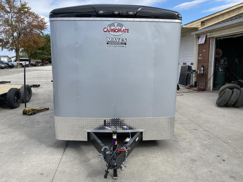 2021 Cargo Mate BL716TA2 Enclosed Cargo Trailer - 7x16 TA - Ramp Door - Torsion Axles - Aluminum Roof (GVW:  7000)