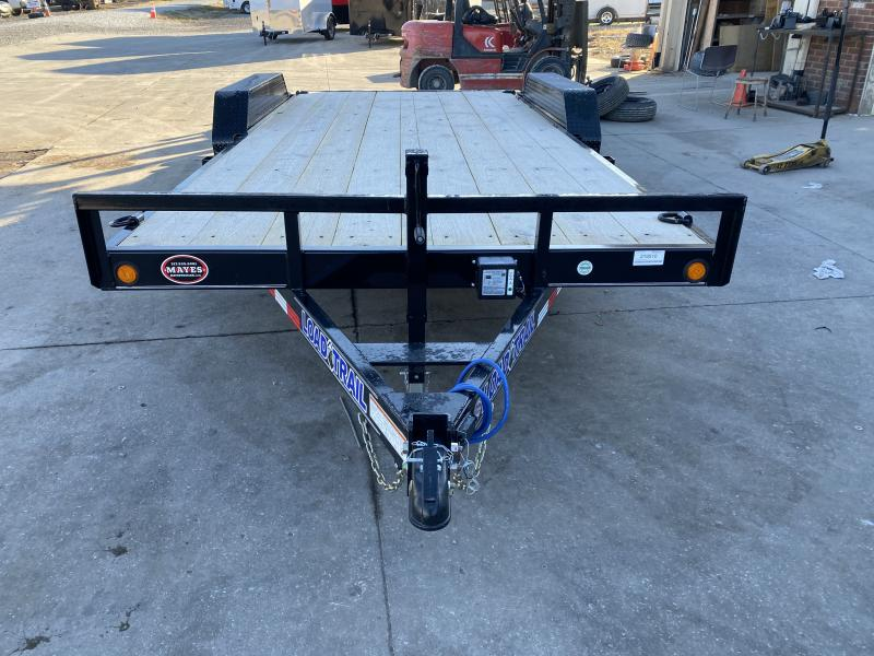 2021 Load Trail XH8318052 Car / Racing Trailer - 83x18 (16+2) TA - 5 Inch Channel - Slide In Ramps - D-Rings (GVW:  9990)