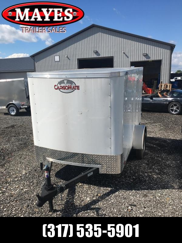 2021 Cargo Mate SS58SA Enclosed Cargo Trailer - 5x8 SA - Single Rear Door - Spring Suspension (GVW:  2000)
