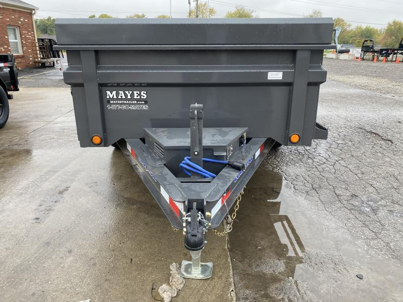 2021 Load Trail DT7212052 Dump Trailer - 72x12 TA Dump - 24 Inch Dump Sides - 2 Way Gate - Slide In Ramps - Scissor Hoist - Tarp Kit - Spare Tire MOUNT ONLY (GVW:  9990)
