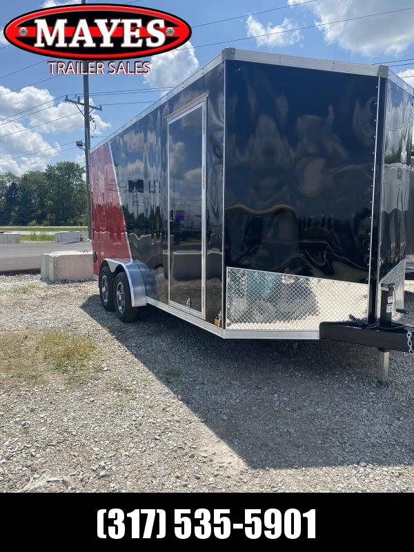 2021 Sport Trailers VECS716TA35-S Enclosed Cargo Trailer - 7X16 TA - Ramp Door - Alum. Wheel Upgrade - 6 Inch Additional Height - Tubular Frame Construction (GVW:  7700)