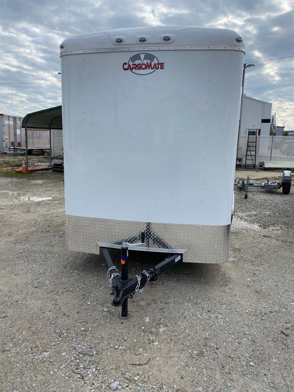 2021 Cargo Mate BL612SA Enclosed Cargo Trailer- 6x12 SA - Ramp Door - Torsion Axle - 12 Inch Additional Height (GVW:  2990)
