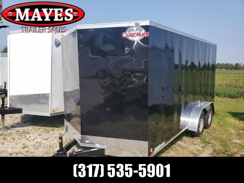 2022 Cargo Mate SSV716TA2 Enclosed Cargo Trailer - 7X16 TA - Double Door - Side Door - 6 Inch Additional Height (GVW:  7000)