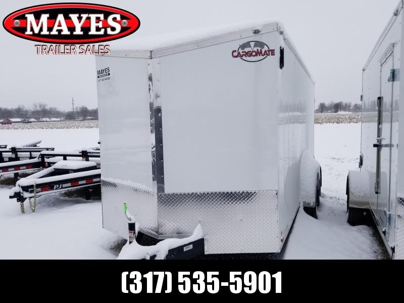 2020 7x16 TA Cargo Mate EHW716TA2 Enclosed Cargo Trailer - Double Door - E-Series Pkg 1 - Slant V-Nose - Additional Floor Crossmembers (GVW:  7000)
