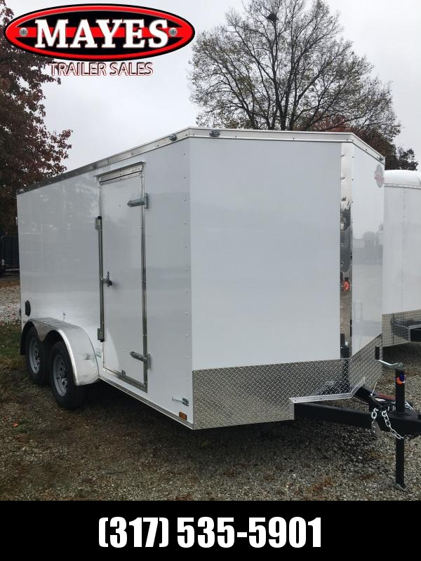 2021 Cargo Mate EHW714TA2 Enclosed Cargo Trailer - 7x14 TA - Double Door - Side Door - Spring Suspension (GVW:  7000)