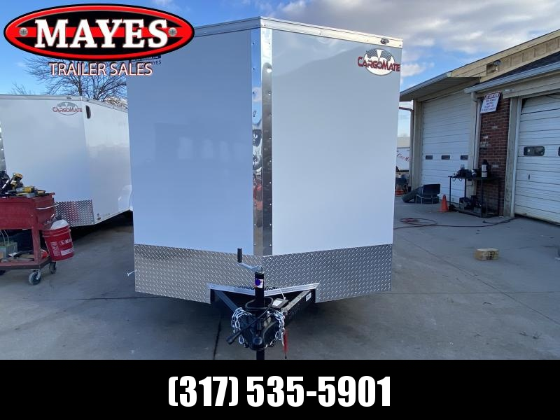 2021 Cargo Mate EHW714TA2 Enclosed Cargo Trailer - 7x14 TA - Double Door - Side Door - Spring Suspension (GVW:  7000)