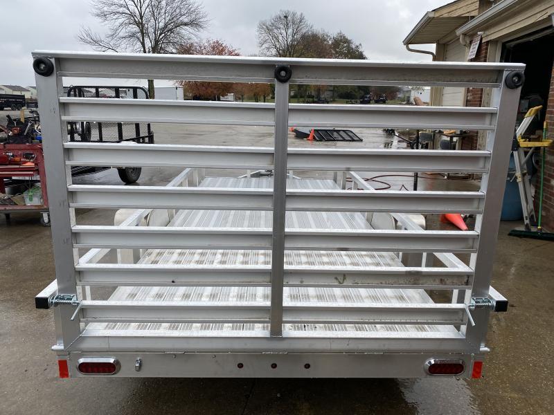 2021 Sport Trail OUA614 Utility Trailer - 6x14 SAUT - Alum. Floor - Rear Ramp Gate w/Dual Locking Positions - Rear Gate Lays Flat (GVW:  2990)