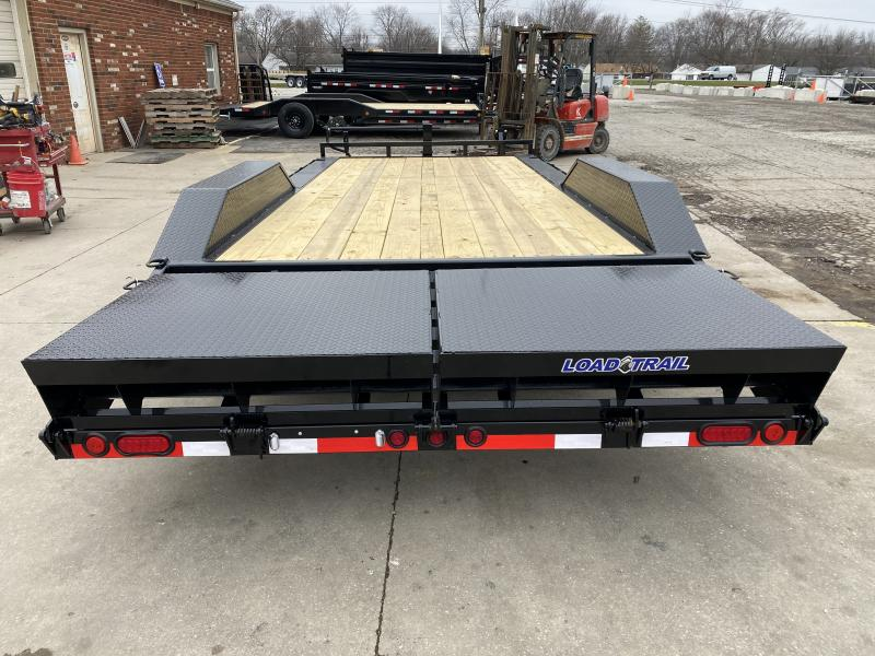 2021 Load Trail CH0220072 Equipment Trailer - 102x20 (18+2) TA - Dovetail - Max Ramps - Drive Over Fenders - D-Rings - Rub Rail - Spare Tire MOUNT ONLY (GVW:  14000)