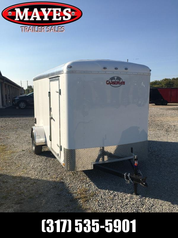 2021 Cargo Mate BL612SA Enclosed Cargo Trailer - 6x12 SA - Double Door with Dual Cambar - Torsion Axle - Aluminum Roof (GVW:  2990)