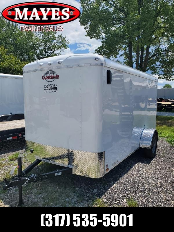 2021 Cargo Mate BL612SA Enclosed Cargo Trailer - 6x12 SA - Ramp Door - Torsion Axle (GVW:  2990)