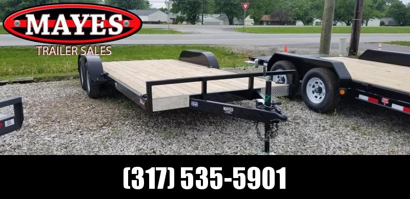 2019 102x18 (16+2) Nation Tank and Trailer 102x18 OCC/WOOD Car / Racing Trailer - Slide In Ramps (GVW:  7000)