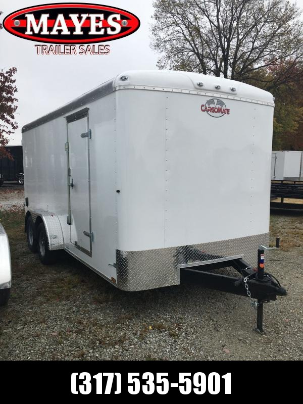 2021 Cargo Mate BL716TA2 Enclosed Cargo Trailer - 7x16 TA - Double Door with Dual Cambars - Torsion Axles - Aluminum Roof (GVW:  7000)