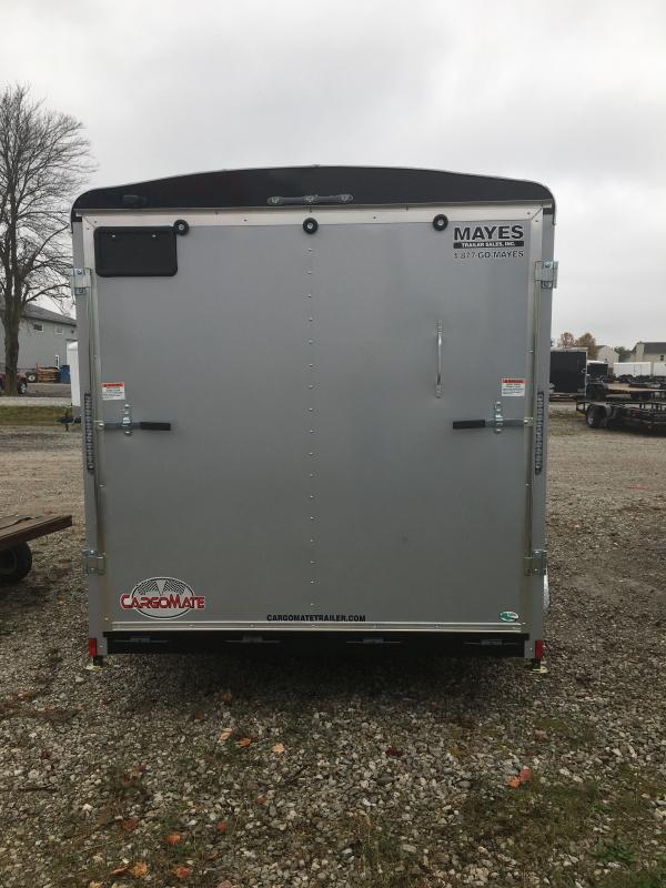 2021 Cargo Mate BL714TA2 Enclosed Cargo Trailer - 7x14 TA - Ramp Door - Torsion Axles - Aluminum Roof - GVW:  7000)