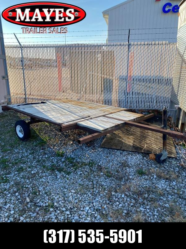 Used 1994 Homemade 1 Axle Utility Trailer