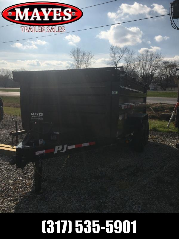 2021 PJ Trailers DX142 Dump Trailer - 83x14 TA Low  Pro Dump - Split/Spread Gate - 4 Foot Tall Sides (GVW:  16000)