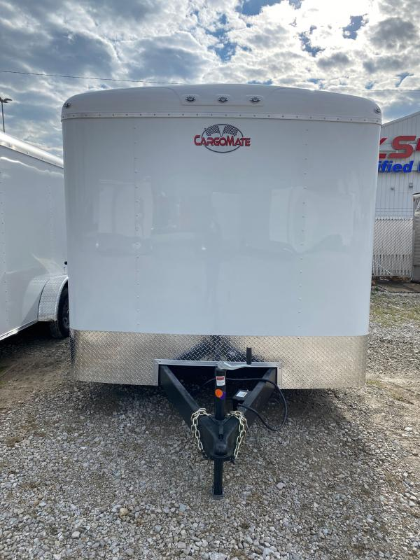 2021 Cargo Mate BL818TA3 Enclosed Cargo Trailer - 8x18 TA - HD Cage Package - Ramp Door - Torsion Axles - Alum. Roof (GVW:  9800)