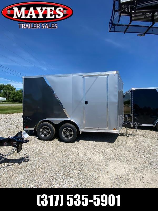 2021 Sport Trailers VECS712TA35-S Enclosed Cargo Trailer - 7x12 TA - Ramp Door - Alum. Wheels - Alum. Roof (GVW:  7000)