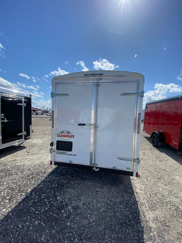 2022 Cargo Mate BL612SA Enclosed Cargo Trailer - 6X12 SA - *****Double Door *****- Side Door - Aluminum Roof (GVW:  2990)