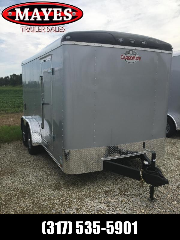 2021 Cargo Mate BL714TA3 Enclosed Cargo Trailer - 7x14 TA - Ramp Door - Torsion Axles - Aluminum Roof (GVW:  9800)
