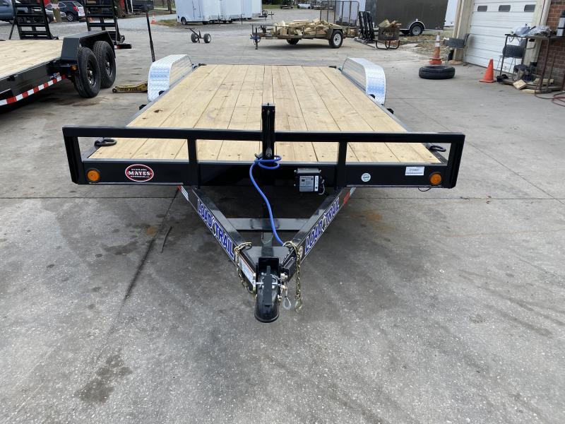 2021 Load Trail XH8318052 Car / Racing Trailer - 83x18 (16+2) TA - 5 Inch Channel Frame - Rear Slide In Ramps - D-Rings (GVW:  9990)