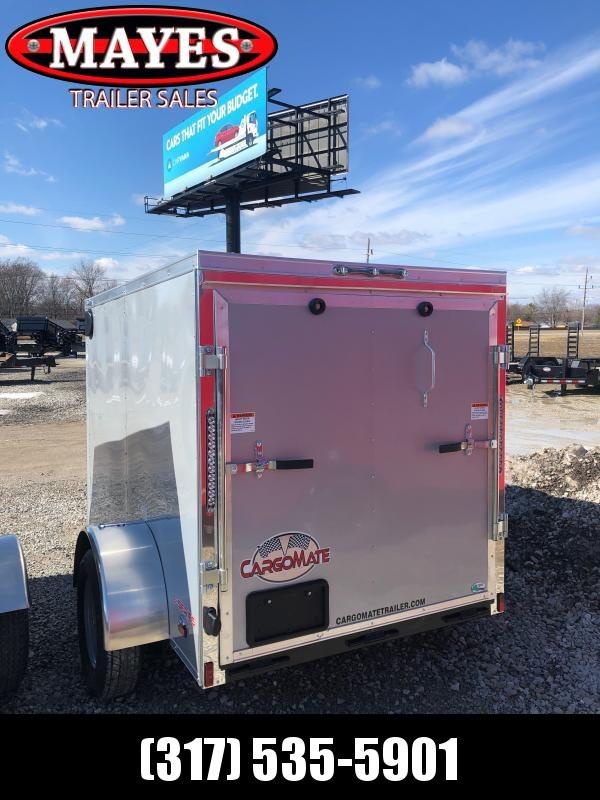 2021 Cargo Mate EHW58SA Enclosed Cargo Trailer - 5x8 SA - Ramp Door - Spring Suspension (GVW:  2990)