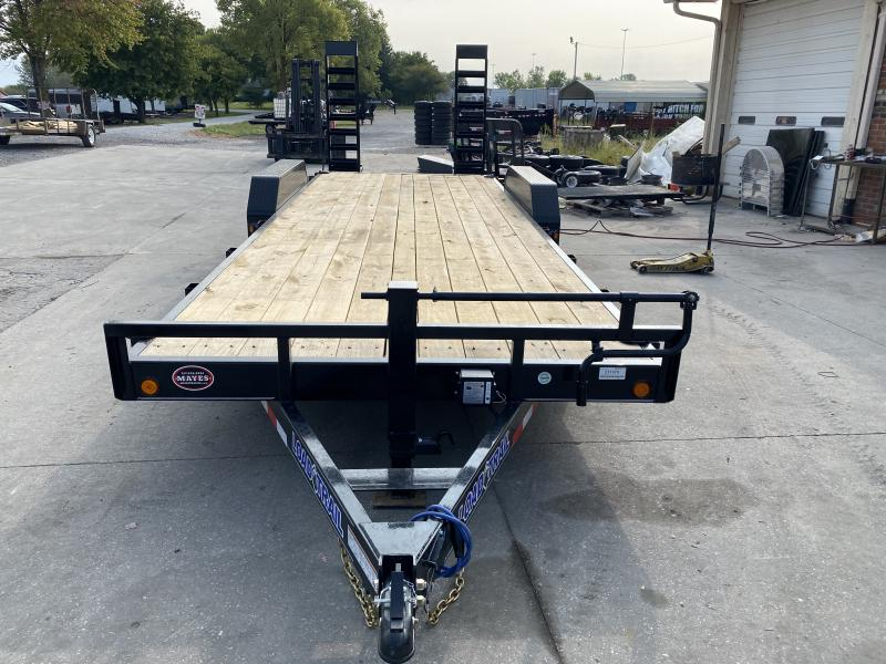 2021 Load Trail XH8322072 Car / Racing Trailer - 83X22 (20+2) TA - Dovetail - Fold Up Ramps - D-Rings (GVW:  14000)