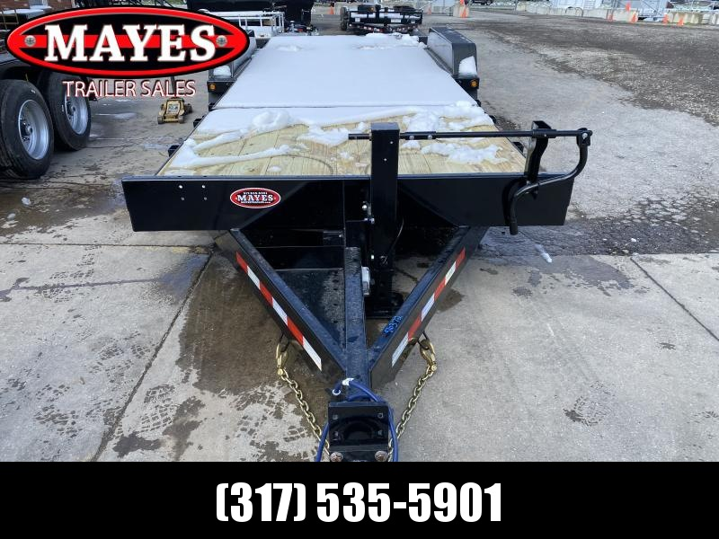 2021 B-B TBCT2220ET-10K Equipment Trailer - 83x22 (6+16) TA Tilt - Torflex Axles - Pallet Fork Holders - 12 Inch O/C Crossmembers - Fender Guides (GVW:  20000)