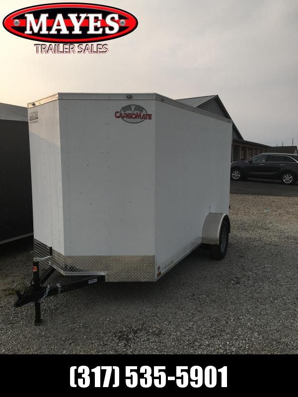 2021 Cargo Mate SSV612SA Enclosed Cargo Trailer - 6x12 SA - Double Door - 6 Inch Additional Height (GVW:  2990)