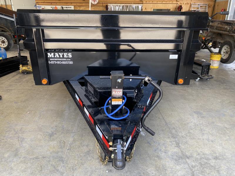 2021 Load Trail DT8314072 Dump Trailer - 83X14 TA - Scissor Hoist - Rear Slide In Ramps - Tool Box - 2-Way Gate - Max Step - Spare Tire MOUNT ONLY (GVW:  14000)