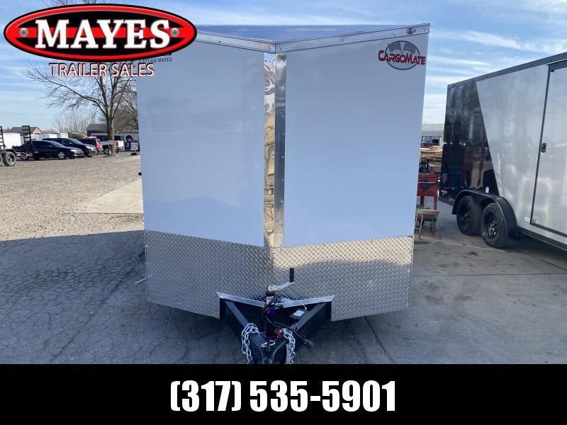 2021 Cargo Mate EHW716TA2 Enclosed Cargo Trailer - 7x16 TA - DOUBLE DOORS - 6 Inch Additional Height - Alum. Roof - E-Series Pkg. #1 (GVW:  7000)