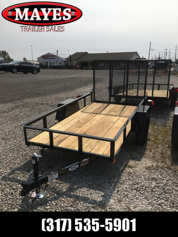 2021 American Manufacturing Operations (AMO) US101 Utility Trailer - 6x10 SA - Tailgate - 2 Inch Coupler (GVW:  2990)
