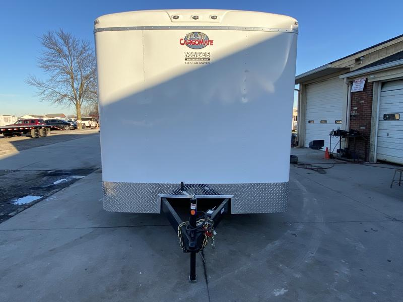 2021 Cargo Mate BL820TA5 Enclosed Cargo Trailer - 102x20 TA - 12 Inch Additional Height - HD Cage Package - Alum. Roof - Ramp Door - 102 Wide Body Design (GVW:  14000)