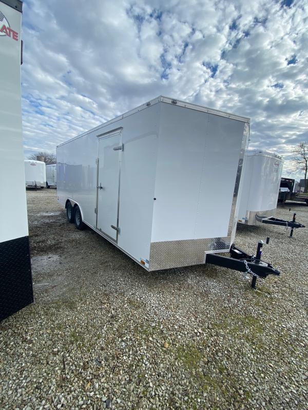 2021  8.5x20 TA Cargo Mate EHW8.520TA2 Enclosed Cargo Trailer - Ramp Door -  (GVW:  7000)