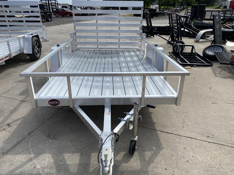 "2021 Sport Haven AUT610D Utility Trailer - 6x10 SAUT - Aluminum Floor - Tailgate - 15"" Tires and Wheels (GVW:  2990)"