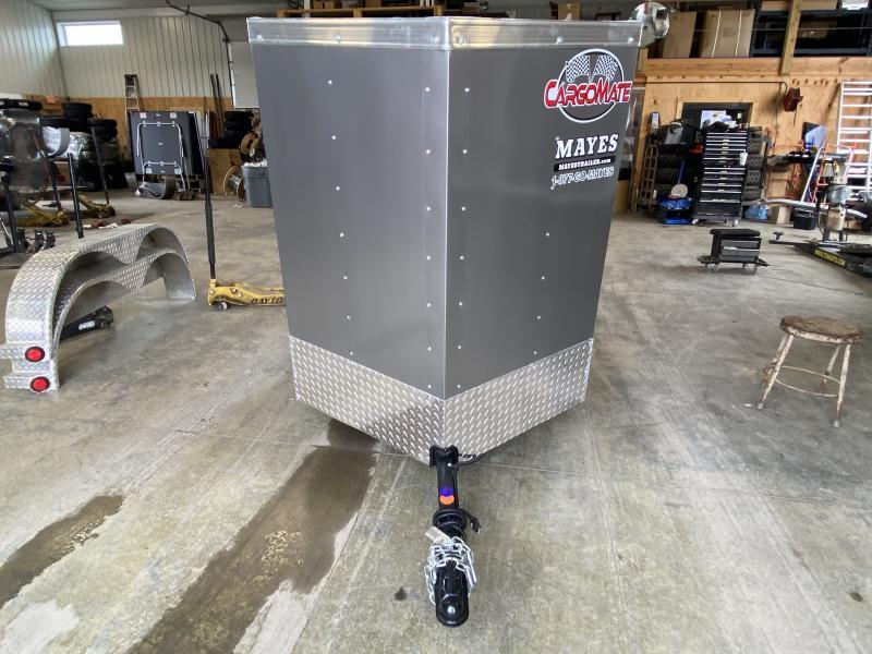 2022 Cargo Mate SSV46SA Enclosed Cargo Trailer 4x6 Single Axle (GVW:2000)