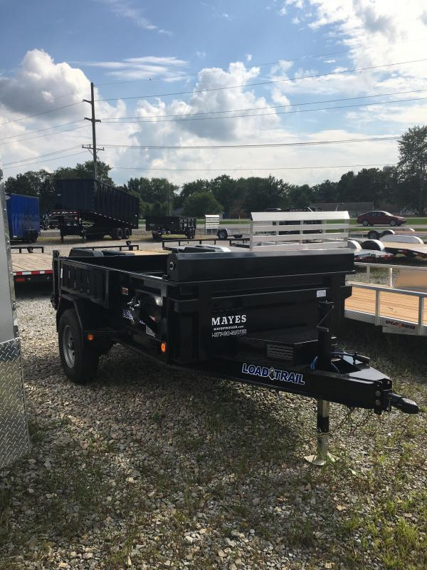 2020 5x10 Single Axle Load Trail Dump Trailer - (Split/Spreader Gate)(Tarp Kit)(GVW: 5080)