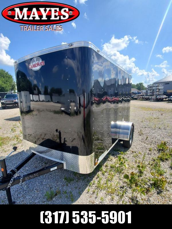 "2021 6x10 Cargo Mate SS610SA Enclosed Cargo Trailer - Black (RD)(GVW:  2990)(6"" Extra Height)"