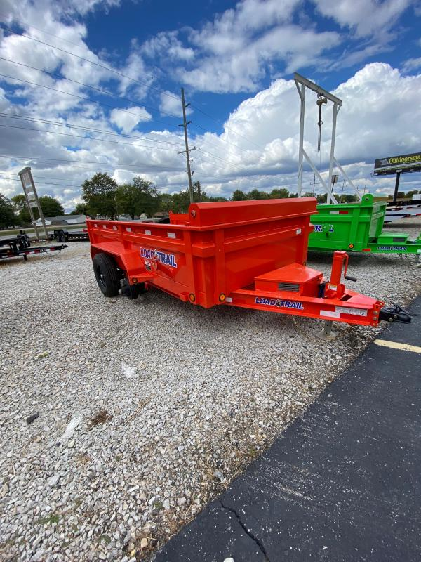 2021 Load Trail DT7212052 Dump Trailer - 72x12 TA Dump - 2 Way Gate - Scissor Hoist - Tarp Kit - Spare Tire MOUNT ONLY (GVW:  9990)