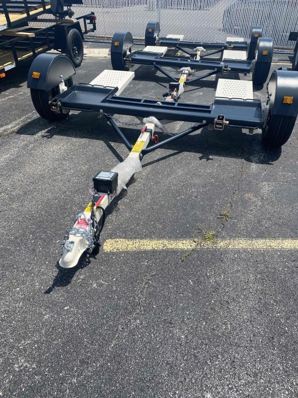 2021 Stehl-Tow ST80TD Tow Dolly - Electric Brakes - 2 Inch Coupler - 14 Inch Radial Tires (2999)