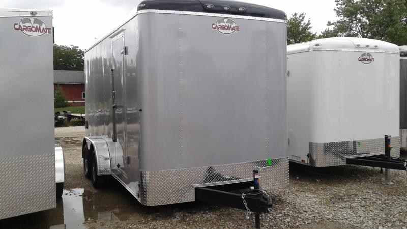 2020 7x16 TA Cargo Mate BL716TA2 Enclosed Cargo Trailer - Ramp Door - 12 Inch Additional Height (GVW:  7000)