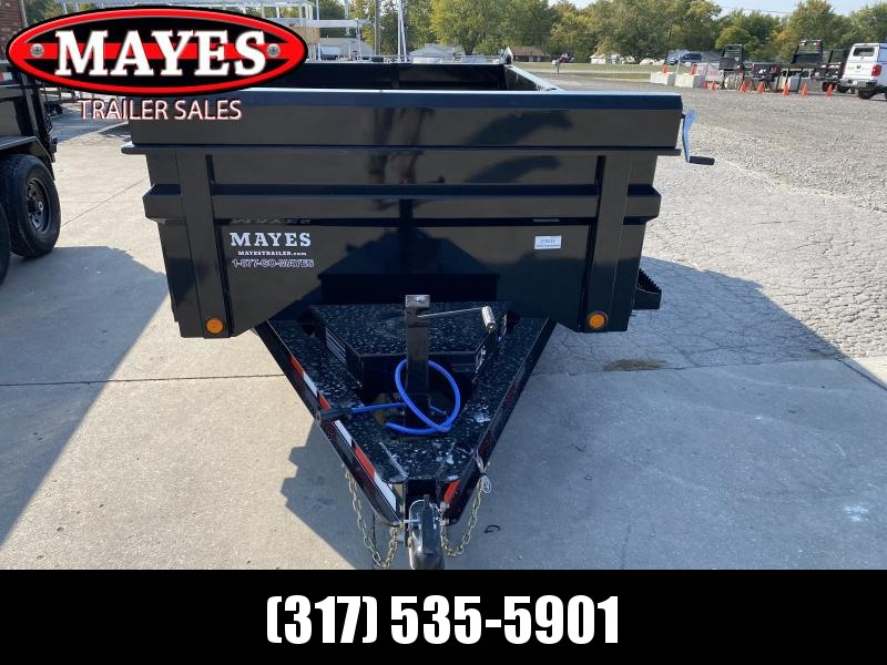 2021 Load Trail DT7212052 Dump Trailer - 72x12 TA Dump - 24 Inch Dump Sides - 2 Way Gate - Scissor Hoist - Tarp Kit - Slide In Ramps - SPARE TIRE MOUNT ONLY (GVW:  9990)