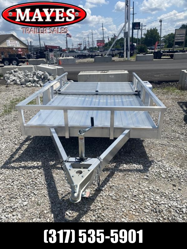 2021 Sport Trailers OUA610 Utility Trailer - 6X10 SA - Spring Suspension - 2 Inch Coupler - Alum. Floor - Rear Gate with Dual Locking Positions (GVW:  2990)