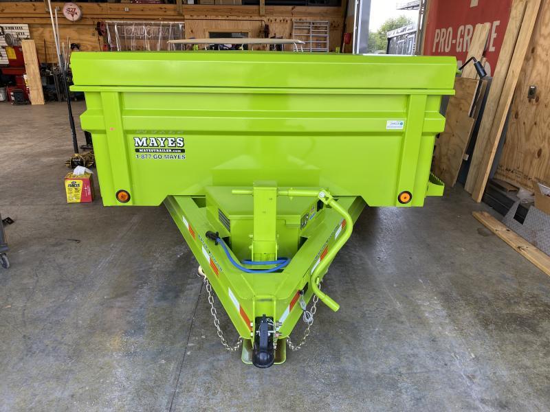 2022 Load Trail DT8314072 Dump Trailer - 83X14 TA - 24 Inch Dump Sides - 2 Way Gate - Slide In Ramps - Scissor Hoist - Spare Tire MOUNT ONLY (GVW:  14000)